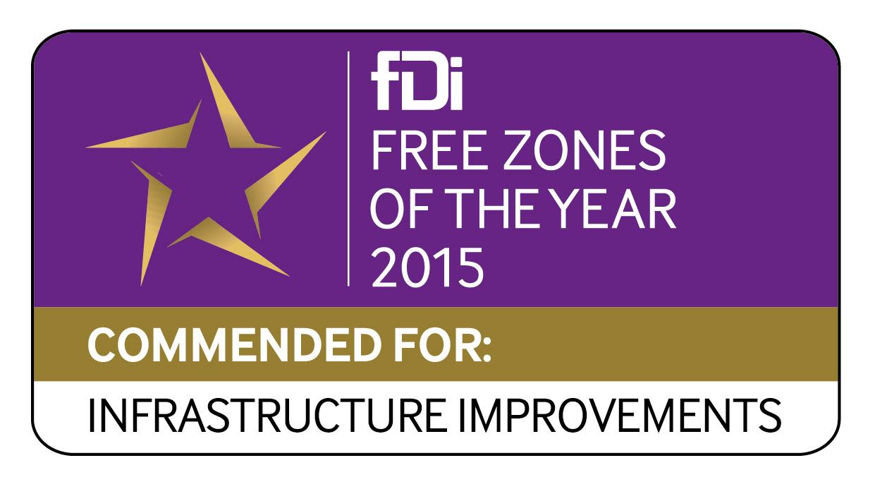 Logo fDI ganador por infraestructuras